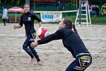 Český pohár 1* žen v plážovém volejbale, 11. července 2020 v Opavě. Michaela Kulhánková.
