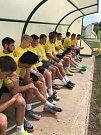 Fotbalisté Hlučína absolvovali soustředění v Sedleci nedaleko Mikulova.