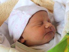"""Agáta Vavříková se narodila 27. prosince, vážila 3,10 kilogramů a měřila 48 centimetrů. """"Aby si našla v životě tu svou správnou cestu,"""" přejí své dceři do života rodiče Michaela a Petr z Opavy."""