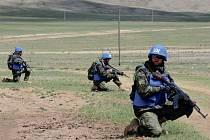 Vojáci opavského 53. pluku průzkumu a elektronického boje se zúčastnili mezinárodního cvičení v Mongolsku.
