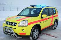"""Pro potřeby tak zvaného setkávacího systému """"rendez-vous"""", kdy vyjíždí lékař k pacientům osobním vozem, bude sloužit vozidlo Nissan X-Trail."""
