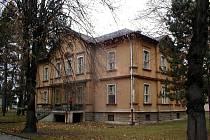 Psychiatrická léčebna v Opavě.