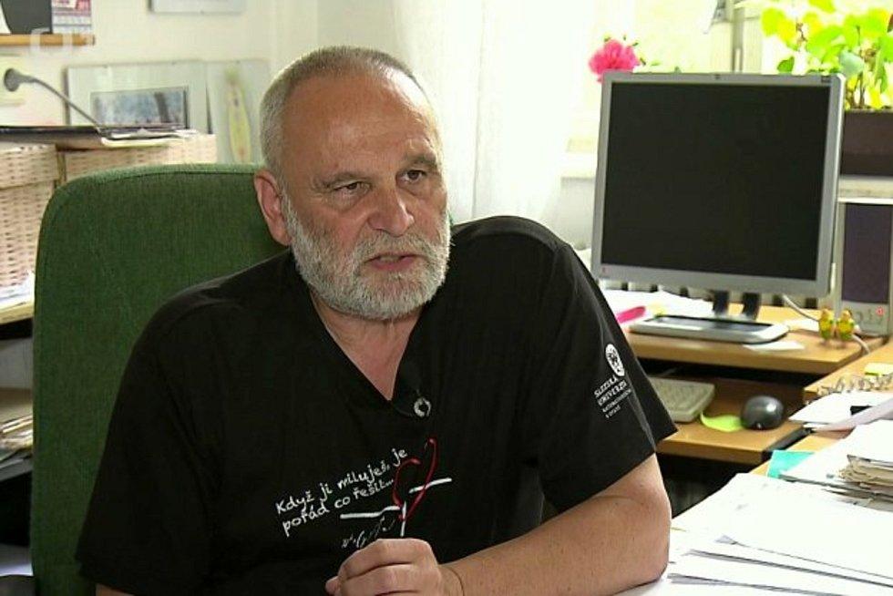 """Ředitel opavského """"Mendláku"""" Petr Pavlíček."""