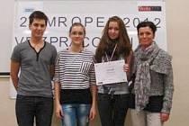 Úspěšný opavský tým tvořili zleva: Lukáš Piwowarski, Tereza Tomanová, Klára Odehnalová a trenérka Karin Solná.
