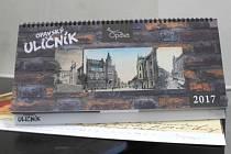 Knihu Opavský uličník doplní také stejnojmenné kalendáře a dobové pohlednice.