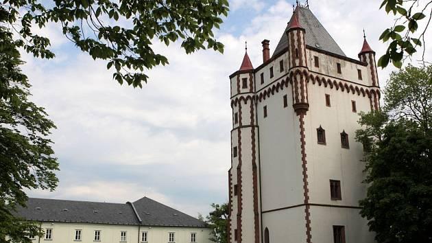 Zámek v Hradci nad Moravicí.