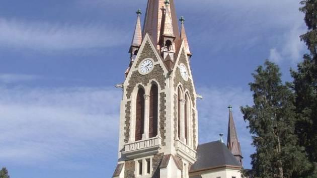 Vítkovský kostel Nanebevzetí Panny Marie.