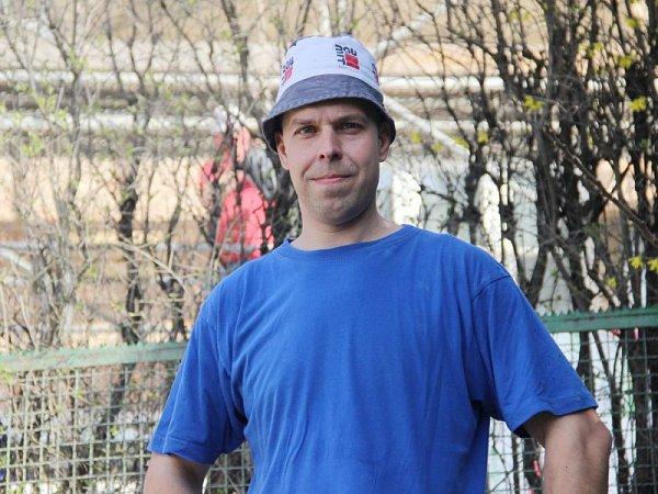 Petr Dvouletý pracuje uSlezských staveb Opava už osmnáct let.