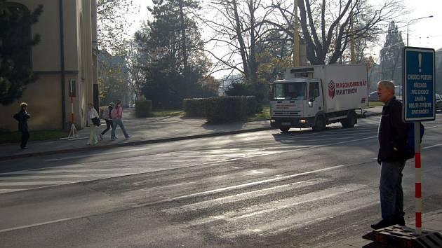 Provizorní přechod na Praskově je zrušen.
