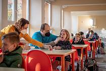 Testování dětí na školách. Ilustrační foto.