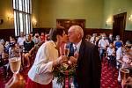 Manželé Věra a Bernd Rumpoldinovi oslavili 27. června svou zlatou svatbu a bylo to téměř na den přesně od jejich sňatku v roce 1970.