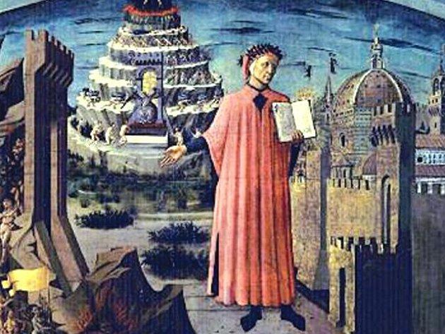 Dante byl jedním z největších italských básníků.