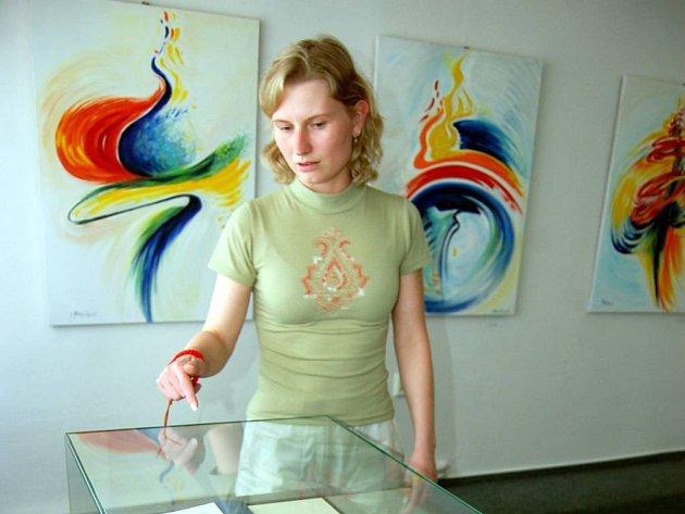 Návštěvníci mají možnost vidět výstavu Ireny Stanislavové v Galerii knihkupectví Librex ještě do konce května.