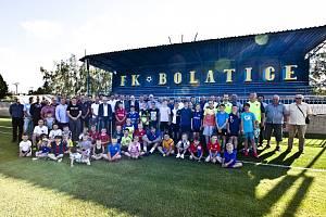 V Bolaticích otevřeli fotbalové hřiště
