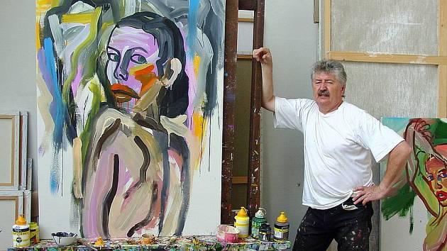 Josef Mžyk se představí na nové výstavě v Domě umění.