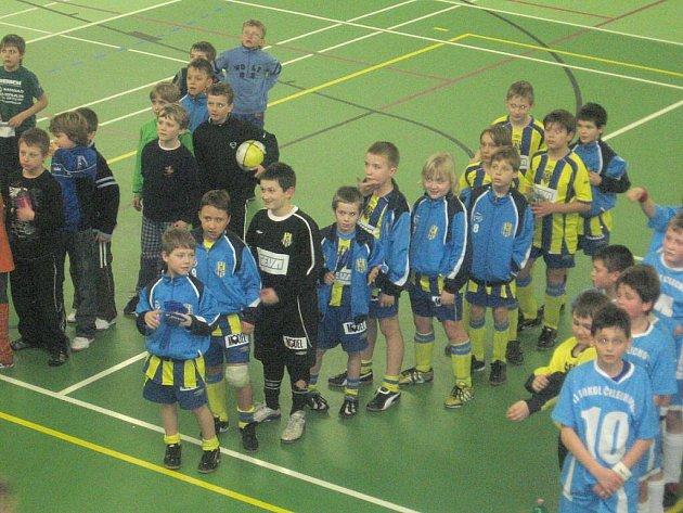 Malí futsalisté skončili na mistrovství republiky čtvrtí.