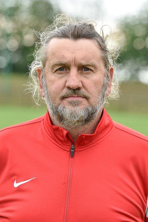 Fotbalový brankář Vilém Axmann. Foto: Lukáš Kaboň