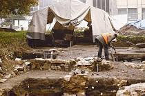 Za Slezankou byly objeveny nálezy pocházející pravděpodobně už z 13. století.