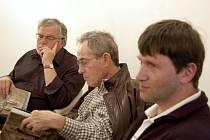 Jan Kačer, Jan Tříska a Jan Hrušínský se představili opavskému publiku.