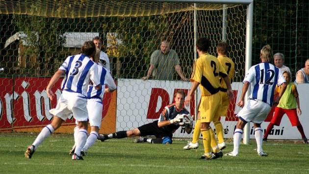 Michal Kosmál chce tři body.