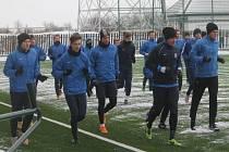 Fotbalisté druholigové Opavy zahájili ve středu dopoledne zimní přípravu.