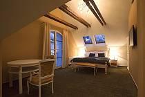 Chloubou minihotelu je apartmán, v němž najdete nábytek vyrobený v Itálii.
