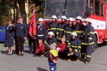 Hrabyňští hasiči.