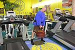 René Richter uzvedl 106 kilogramů malíčkem jedné ruky. Předchozím držitelem tohoto rekordu byl Kristian Holm z Norska, který měl zapsáno 100,38 kilogramu. Foto: Jiří Týn