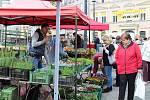 Farmářské trhy v Opavě.