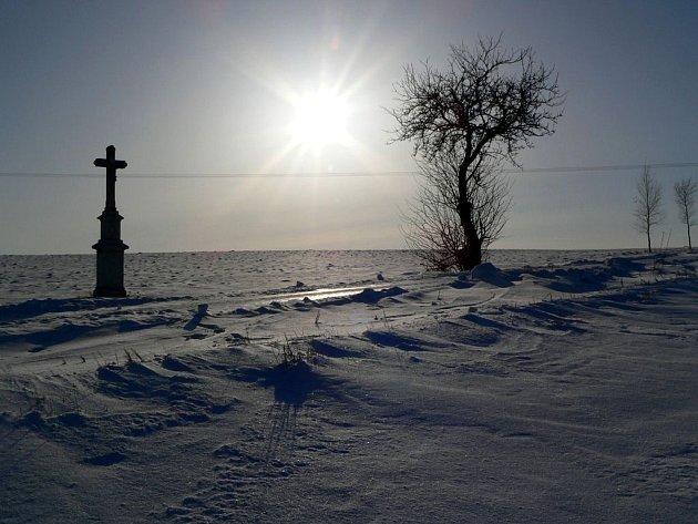 Strom u božích muk v Milostovicích.