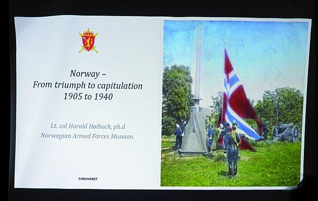 Obecní dům vOpavě se vpátek 26.října stal dějištěm společného česko – norského semináře na téma 20.století, Evropa ve válce a míru – důsledky a poučení.