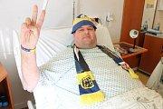 Skalní fanoušek Slezského FC Džeky se letos rozhodl nevolit.