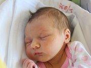 Nela Marčišovská se narodila 11. září, vážila 2,92 kilogramů a měřila 46 centimetrů. Rodiče Adéla a Michal z Jakubčovic nad Odrou přejí své prvorozené dceři do života především zdraví.