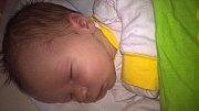 Maxmilián Wicha se narodil 20. října, vážil 3,48 kilogramů a měřil 49 centimetrů. Rodiče Eliška a Karel z Kobeřic svému prvorozenému synovi přejí zdraví, štěstí a dlouhý spokojený život.