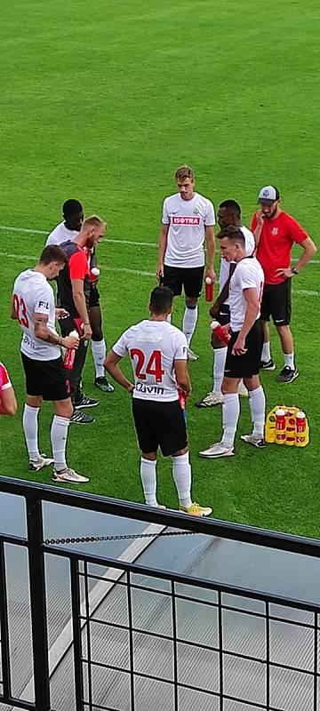 Fotbalisté Slezského FC Opava vyhráli v Púchově. Foto: Adam Stodůlka