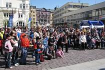 Ve čtvrtek 24. dubna proběhl na Horním náměstí v Opavě Den s Deníkem.