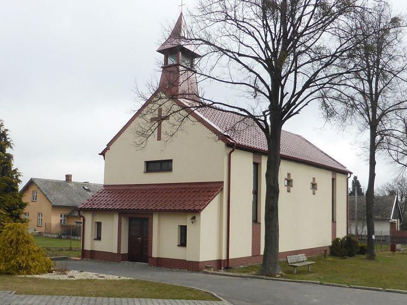 Kaple v Hrabství vznikla v padesátých letech minulého století.