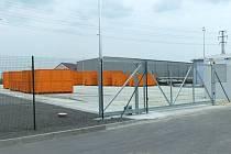 Nový sběrný dvůr ve Vítkově, který přišel na více než šest milionů korun, stojí na okraji města v průmyslové zóně.