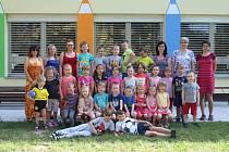 Děti z Mateřské školy Litultovice.