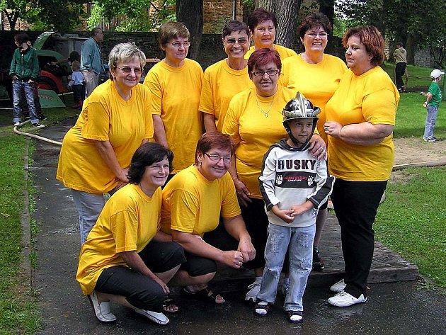 Součástí SDH v Hlavnici je také družstvo žen.
