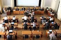 Zasedání zastupitelstva města Opavy, pondělí 19. června 2017.