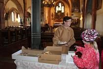 Prodejem štrúdlů podpořili misijní činnost.