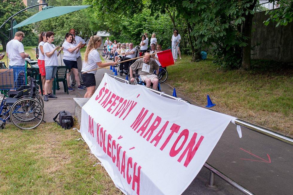 "4. ročník ""Štafetového maratónu na kolečkách – Memoriálu Vladimíra Plačka""."