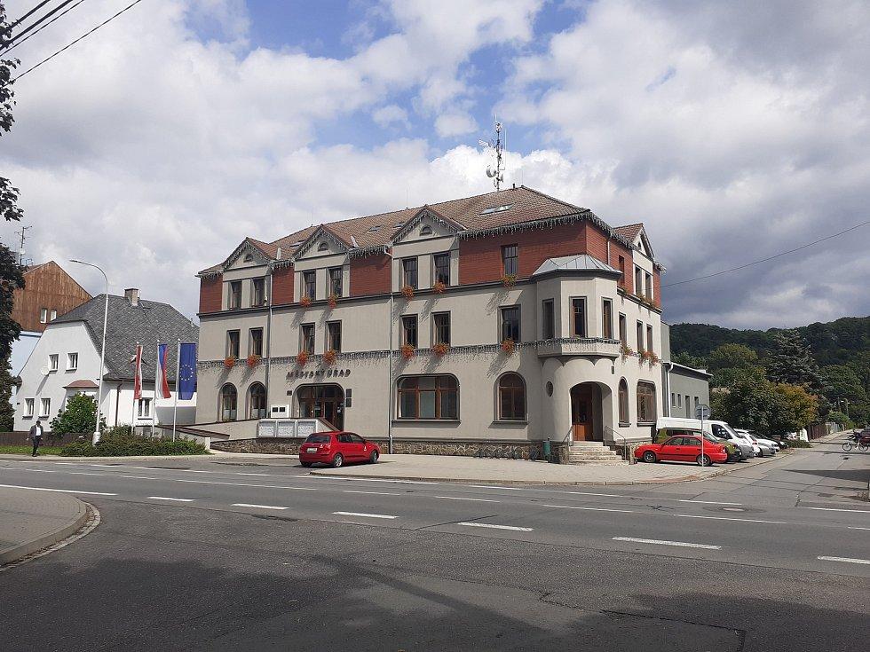Městský úřad v Hradci nad Moravicí.