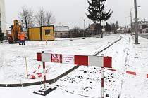 Úpravy vnitrobloku ulic Na Pastvisku - Pekařská - Rolnická - Štefánikova jsou v plném proudu.