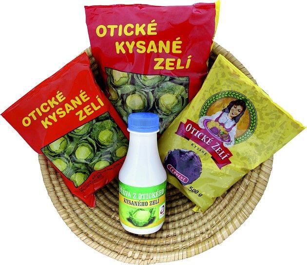 Zemědělský podnik Otice vyrábí proslulé Otické kysané zelí.