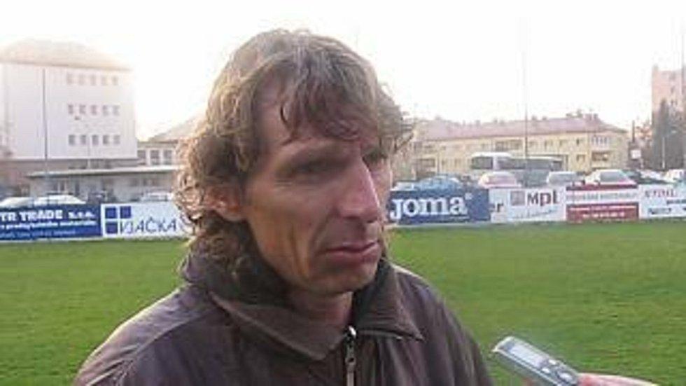 Bývalý reprezentační útočník Petr Samec. Foto: VLM