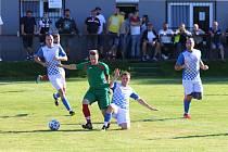 Fotbalisté Závady si na domácím trávníku poradili s Vřesinou. Vyhráli 5:2.