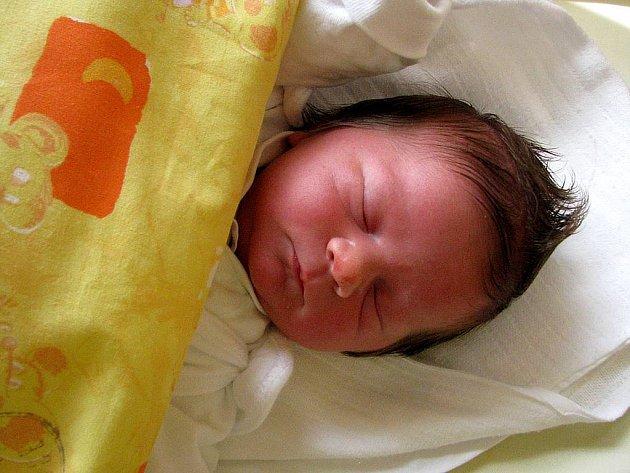 Lucie Korčíková se narodila 28. května, vážila 3,13 kg a měřila 49 cm.