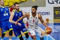 ROBIN MATĚJKA si připsal proti Košířům sedm bodů.